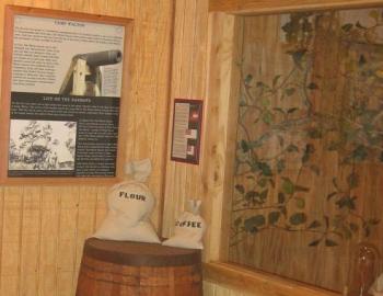 fort walton civil war exhibits