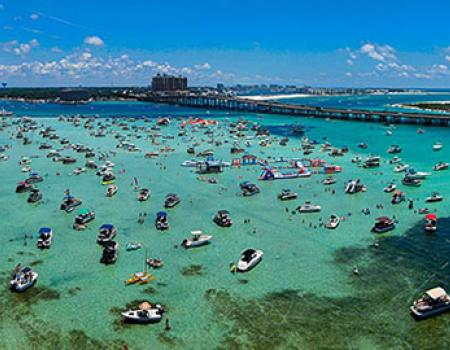 Destin Crab Island