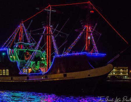 Pirate Ship | Destin Harbor Boat Parade | Annual Destin Events