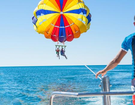Parasailing in Destin Florida | Destin West Vacations