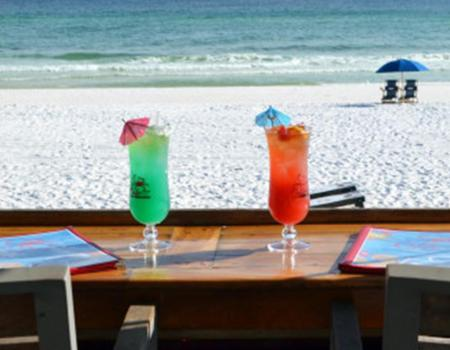 View From the Patio of the Crab Trap | Destin Restaurants