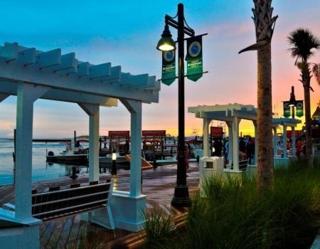 destin harbor boardwalk city of destin