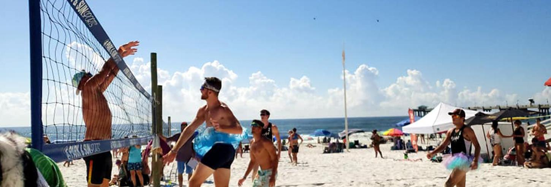 Emerald Coast Spring Volleyball | Destin Events | Destin West Vacations