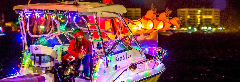 Destin Harbor Boat Parade | Annual Destin Event | Destin West Vacations