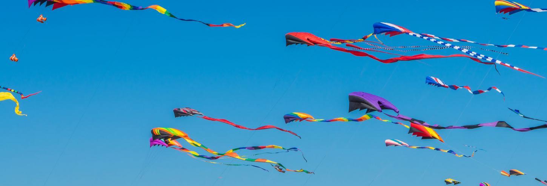 kite festival at the beach