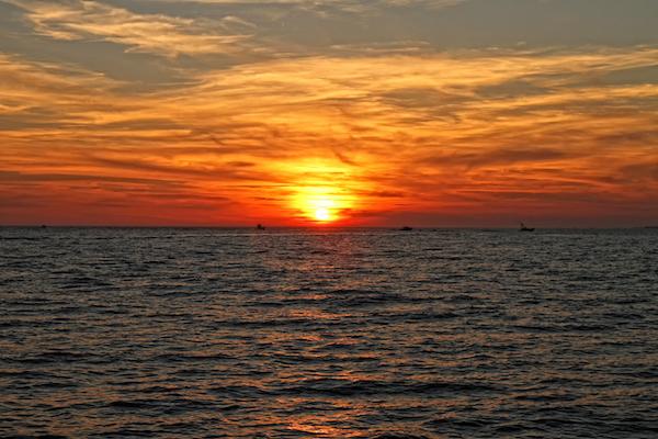Destin Fall Sunset
