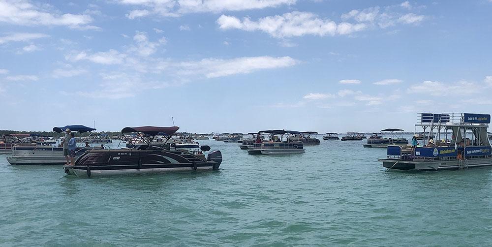 Crab Island in Destin